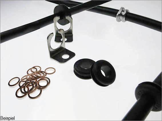 Stahlflex Kupplungsschlauch für BMW E30 M3 Leitung EVO