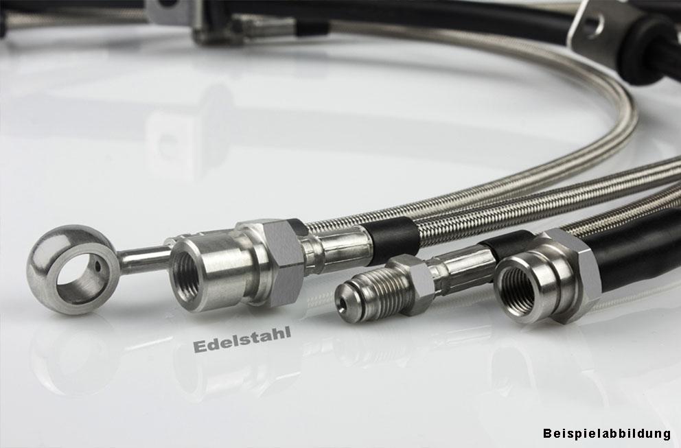 Für BMW Z1 bis FGN 5000 Stahlflex Bremsschläuche
